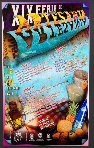 Cartel XIX Feria Artesanía